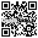 QR bar code for CoachRadio.tv