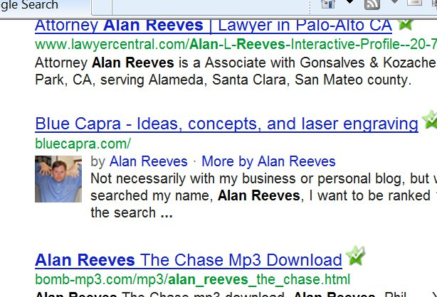 1st on Google - Week 1 Update - Alan Reeves