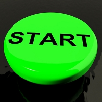 Start a blog - button