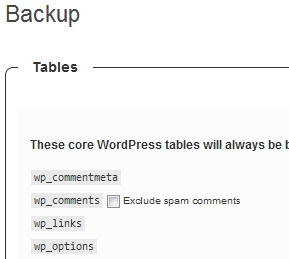 WordPress How-To: WordPress Database Backup