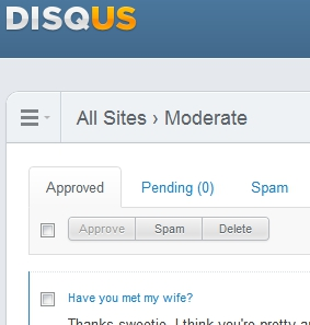 Spam Attack - Helping to protect your site from spam - Disqus