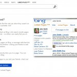 1st on Google - Linked pages on Bing