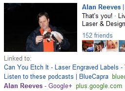 1st on Google - The Search for Alan Reeves - Week 29