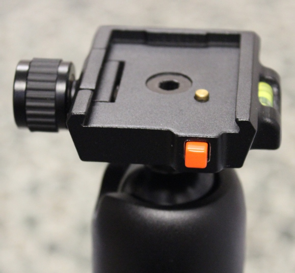 Vanguard SBH-100 - Quick release button