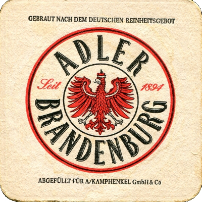 Coaster from Germany - Adler Brandenburg