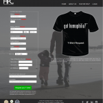 Got Hemophilia t-shirt request form