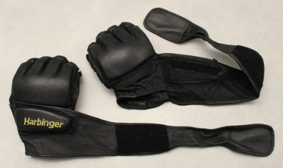 Harbinger 320 Gloves Review - Krav Maga Gear - Gloves open
