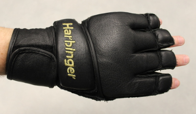 Harbinger 320 Gloves Review - Krav Maga Gear - Wrist strap in the right spot