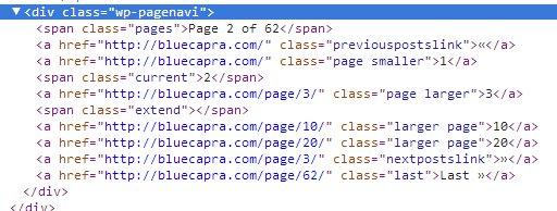 responsive-design-wp-pagenavi-code