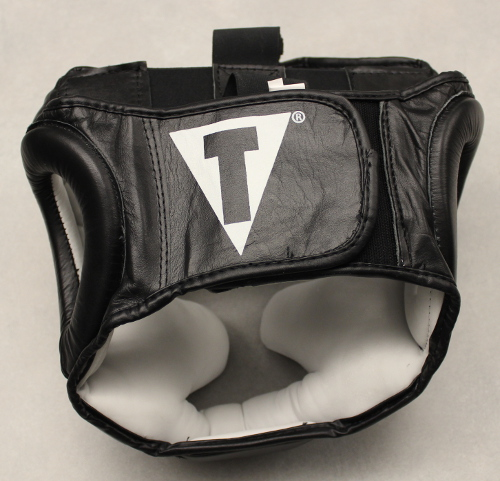 Title Pro Full Face Training Headgear Review - Back of the headgear