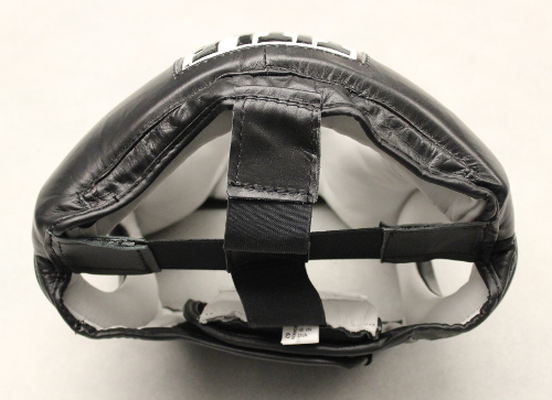 Title Pro Full Face Training Headgear Review - Top of the headgear