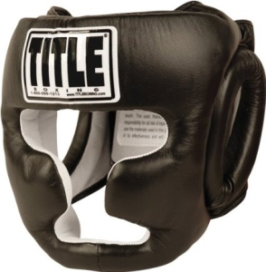 Title Pro Full Face Training Headgear