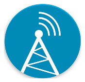 Logo for AntennaPod, a podcast player for Android