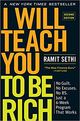 Book cover for I Will Teach You To Be Rich by Ramit Sethi